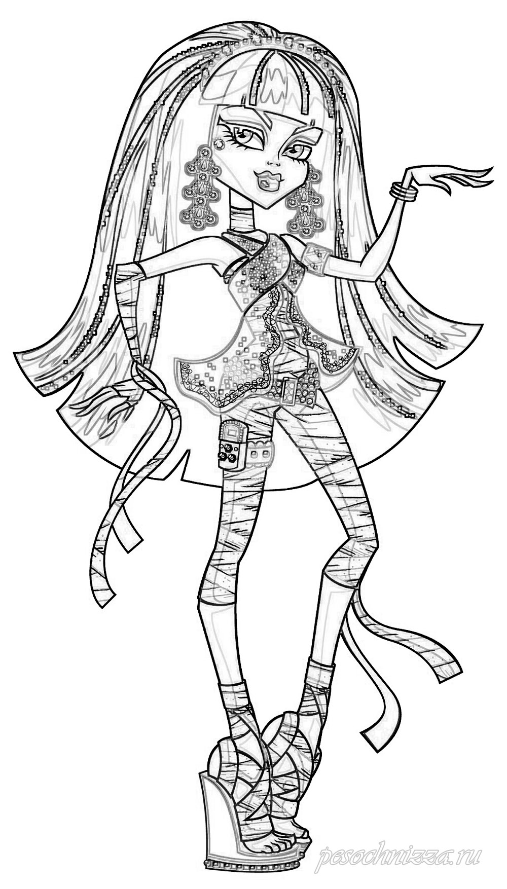 Coloring page Monster High